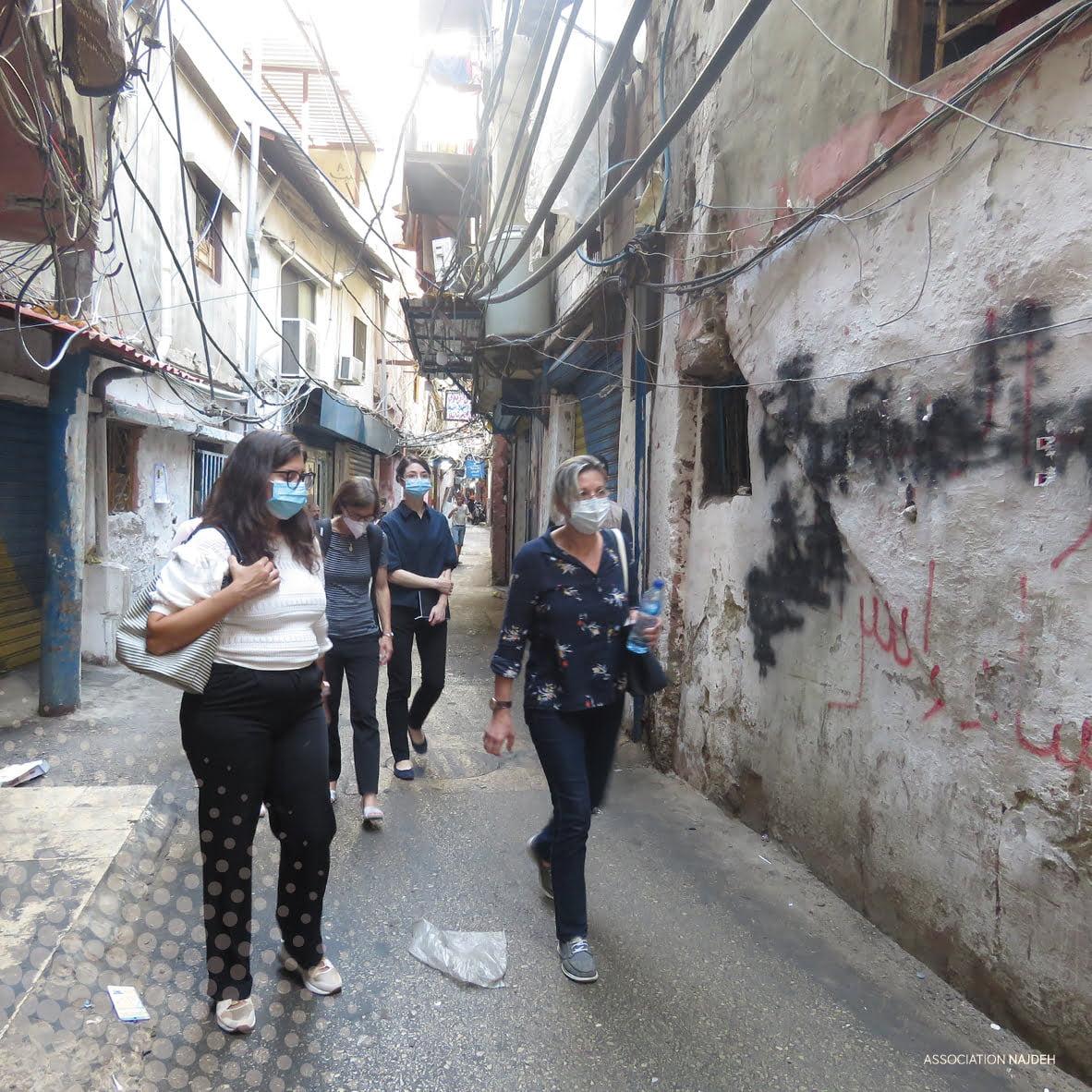زيارة وفد من سفارة سويسرا في لبنان لجمعية النجدة الإجتماعية