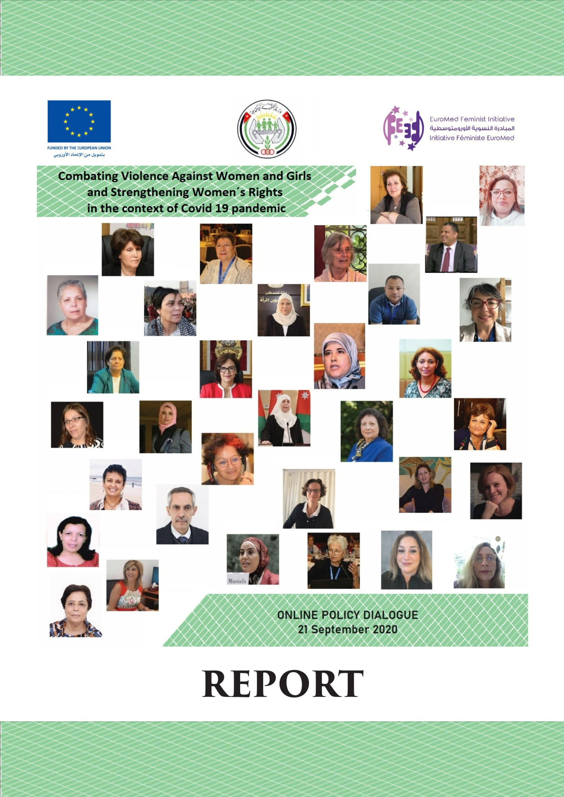 Report – Policy Dialogue – Combating VAWG and Strengthening WR in the context of Covid 19 pandemic
