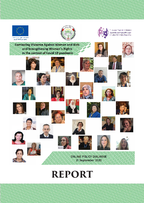 Report - Policy Dialogue - Combating VAWG and Strengthening WR in  the context of Covid 19 pandemic - En.pdf